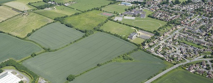 Shipston North aerial view