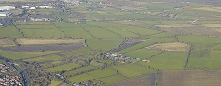 Swindon aerial view